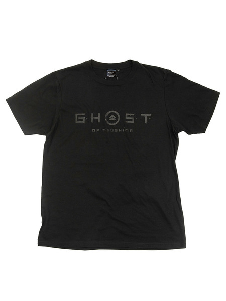 Ghost of Tsushima ロゴ&家紋 Tシャツ (GHOSTデザイン)