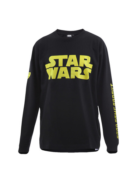 Star Wars-TEAM GRAPHT Long Sleeve Tee-BK